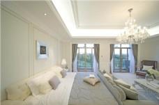 简约卧室大床设计图