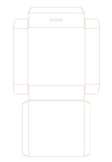 包装盒结构图