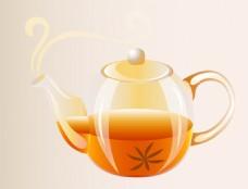 矢量茶壶EPS