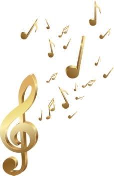 音乐音符图案
