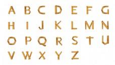 字母艺术设计插图矢量素材