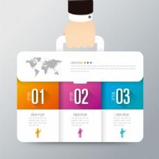 商务公文包信息图