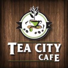 TEA CITY咖啡馆LOGO设计