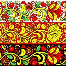 艺术花朵背景