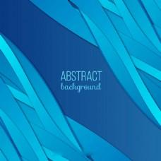 蓝色调的抽象图案背景