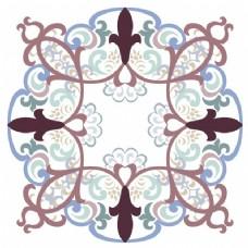 曼陀罗装饰背景