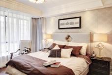 创意卧室大床设计图