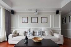 白色沙发客厅装修效果图