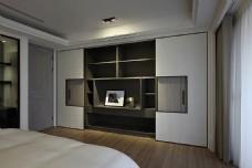 美式简约时尚卧室装修效果图