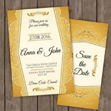 金色创意高档卡片模板源文件宣传