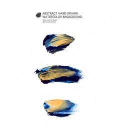 蓝色墨迹图片
