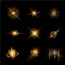 各种光源效果矢量素材