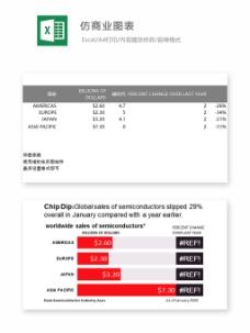 仿商业图表-Excel图表