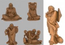 传统佛家立体图