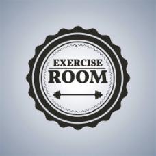 圆形体育运动标志图片