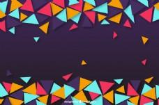 立体几何背景素材