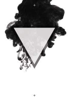 黑白水墨平面几何扁平创意广告海报背景设计