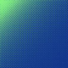 半色调点状蓝绿渐变背景