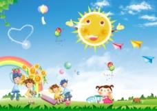 幼儿园插图
