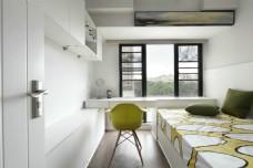 现代简约卧室窗户设计图