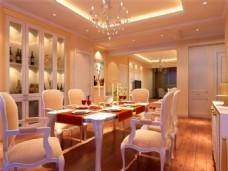 豪华家居餐厅模型设计