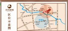 房地产行业区位图