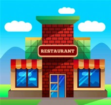 创意餐馆设计模板源文件宣传活动