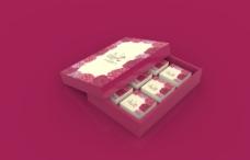 月饼盒-花开富贵牡丹(六粒装)