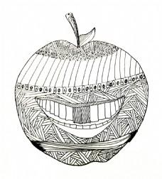 苹果创意元素