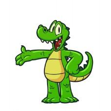 矢量鳄鱼欢迎您EPS