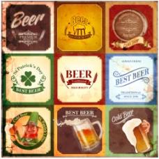 复古啤酒标志
