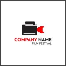创意电影节标志logo设计