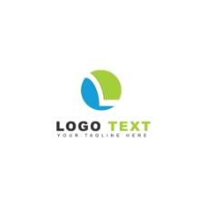 抽象技术标志logo设计