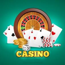 各种赌场游戏元素背景