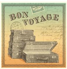 行李箱背景素材