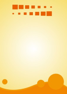 黄色边框阳光背景