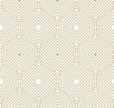 金色抽象几何装饰图案