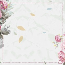 小清新花纹复古文艺主图淘宝背景