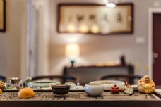 新中式简约室内茶几设计图