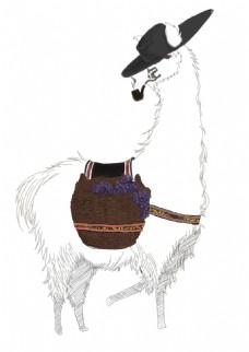 羊驼原创手稿