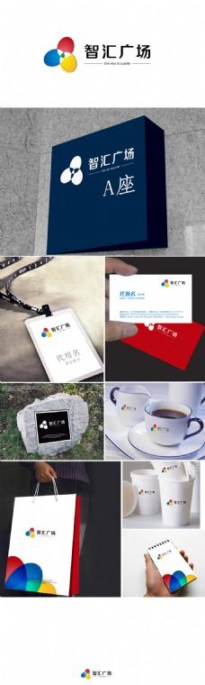 智汇广场标识系统设计