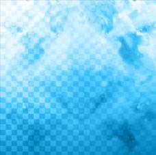 蓝色矢量背景图