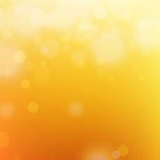 闪亮的橙色光效背景