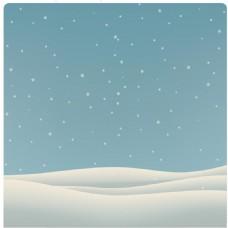 简约山脉蓝色星空背景