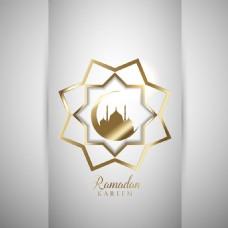 斋月开斋节伊斯兰装饰图案背景
