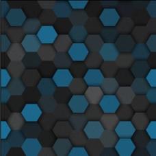 几何六边形底纹背景图