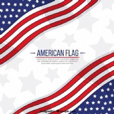 美国国旗图案背景