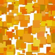橙色正方形叠加背景