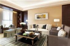 现代客厅家装模型设计