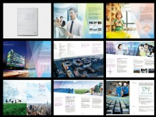 Posco制铁集团画册设计矢量文件素材